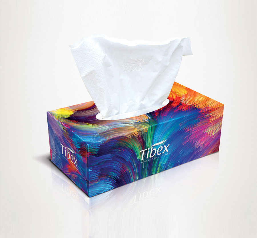 Facial Tissue Box #LU01