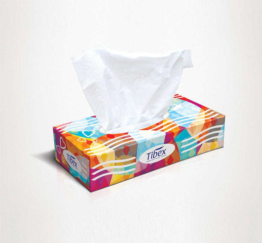 Facial Tissue Box #LU02