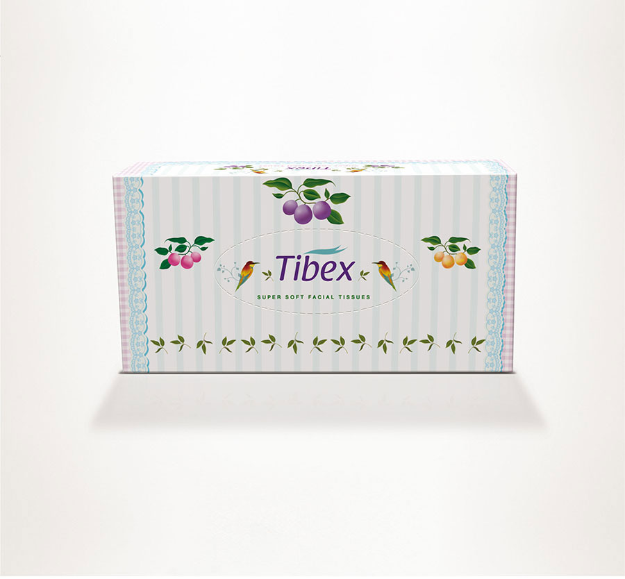 new best tissue box design , new best facial tissues design