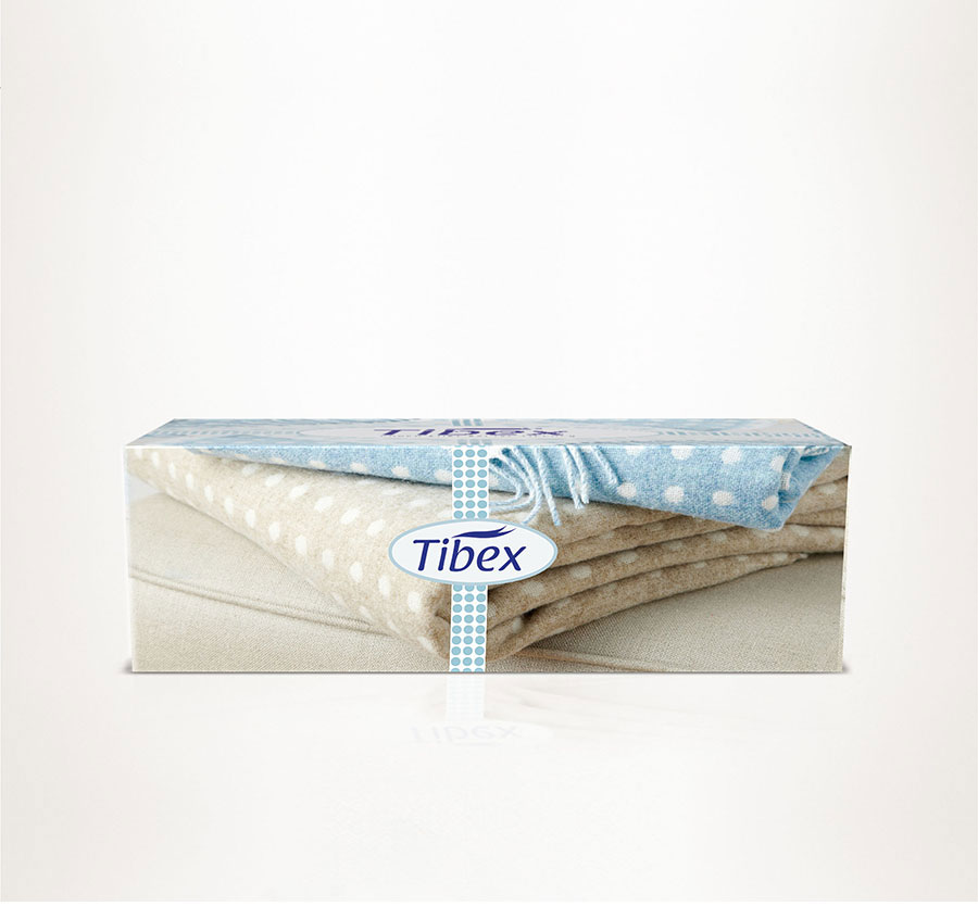 L017 facial tissues box design