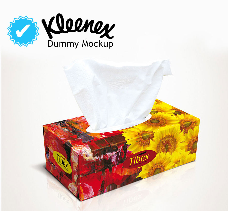 Facial Tissue Box - Graphic Packaging Design - Hot flowers ...