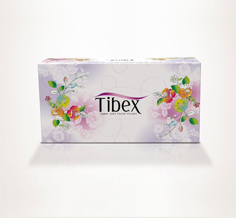 Facial Tissue Box - Graphic Packaging Design - Psd Facial ...