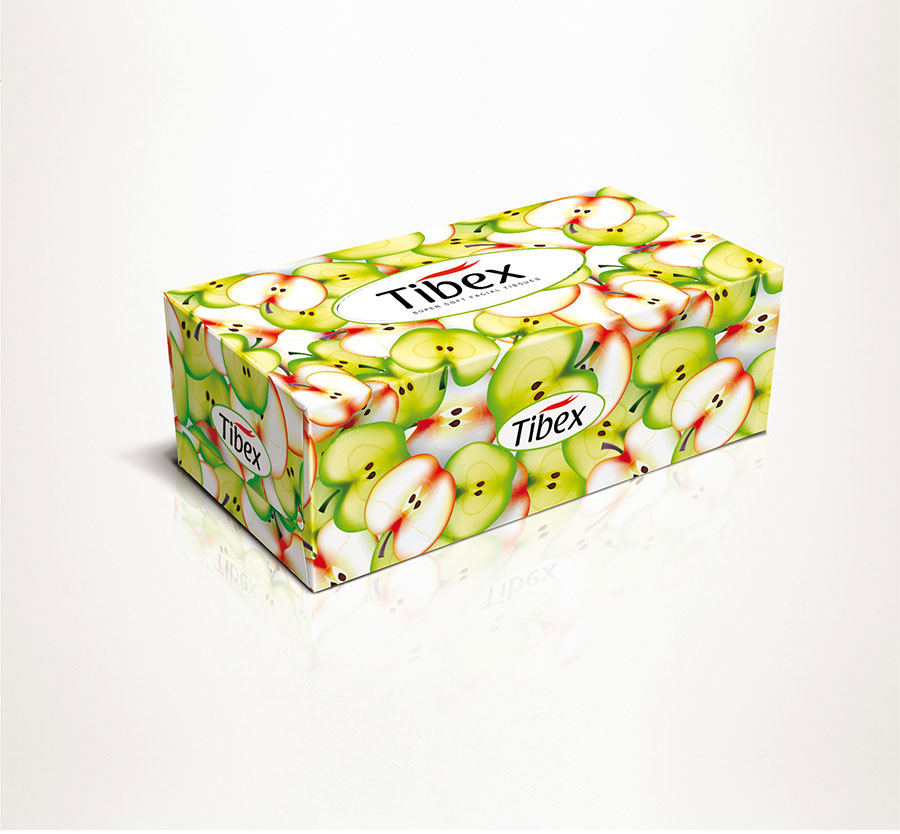 Facial Tissue Box - Graphic Packaging Design - New Tissue ...