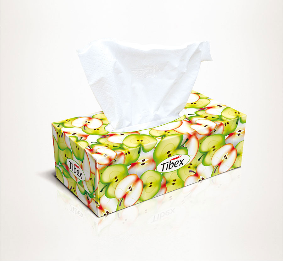 tissue box , facial tissues
