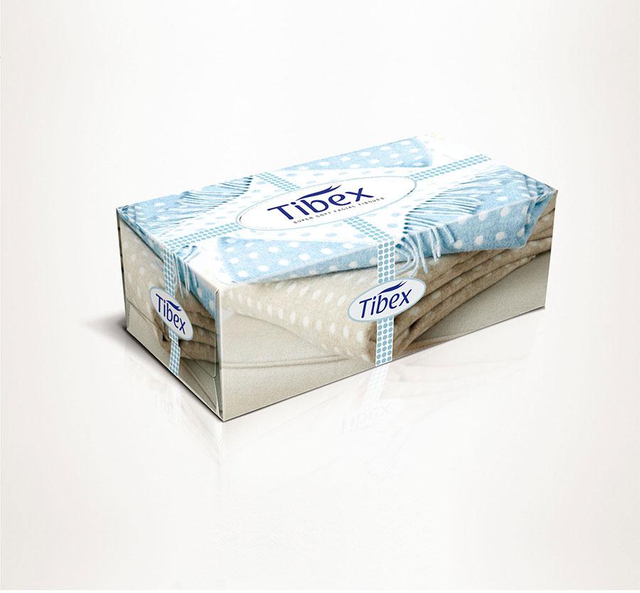 Facial Tissue Box - Graphic Packaging Design - facial Tissues box ...
